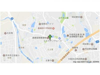 【地図】Hill Top Terada (株)Roots