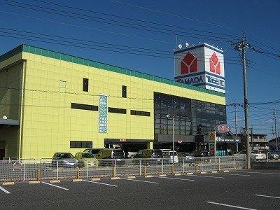 ヤマダ電機テックランド伊勢崎まで750m