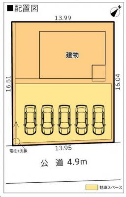 【区画図】富士宮市大岩 8期 新築一戸建て AN