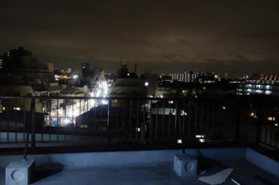 夜景も楽しめますね