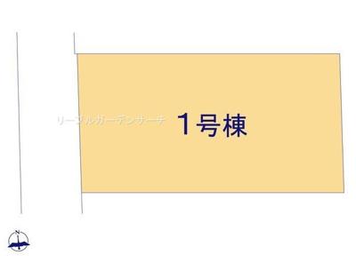 【区画図】リーブルガーデンS天理市二階堂上之庄町10期