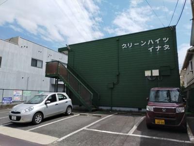 【外観】グリーンハイツ稲田