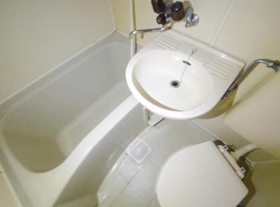 【浴室】ナガミネハイツ