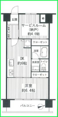 【外観】アルプスマンション西大久保