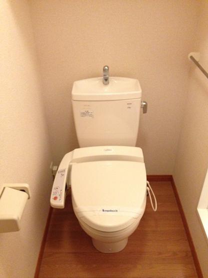 【トイレ】レオパレスメルベージュ