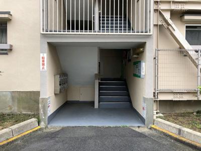 【エントランス】ビレッジハウス招提3号棟