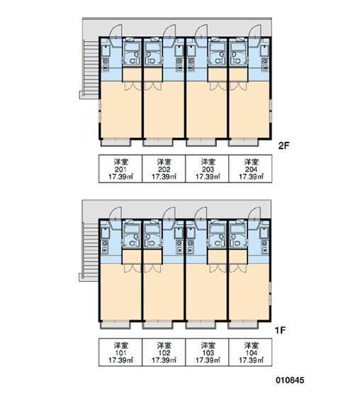 【区画図】レオパレスゴールデンベセル