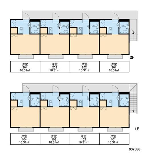 【区画図】レオパレスセトール