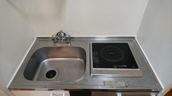 【キッチン】レオパレスセトール