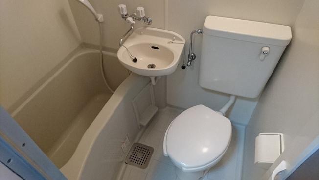 【浴室】レオパレスセトール