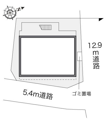 【区画図】レオパレスいずみ