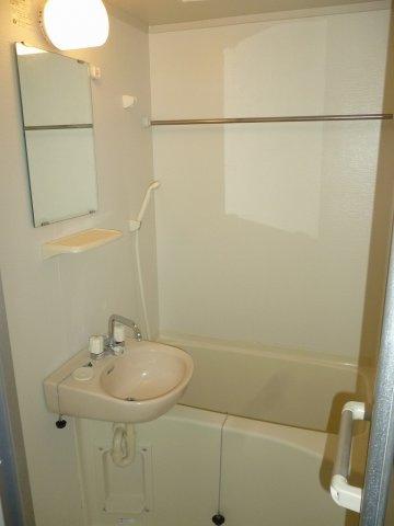 【浴室】レオパレスCrea