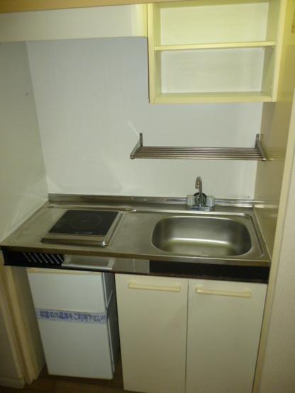 【キッチン】レオパレス立川第三