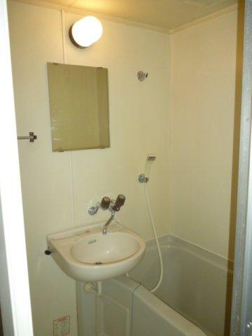 【浴室】レオパレス立川第三