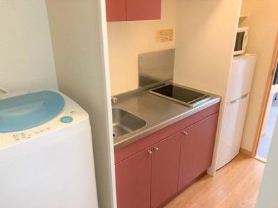 キッチン周りが広く、料理がしやすい♪