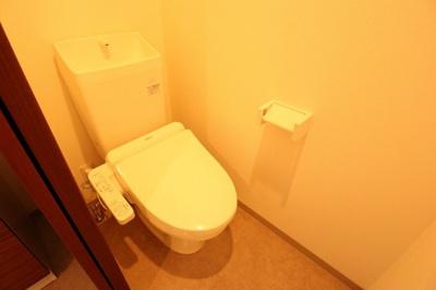 【トイレ】温水洗浄便座付き