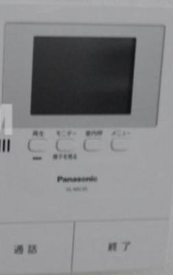 TVモニター付★