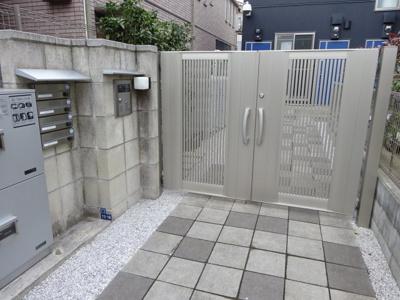 【エントランス】キングハウス吉祥寺B棟