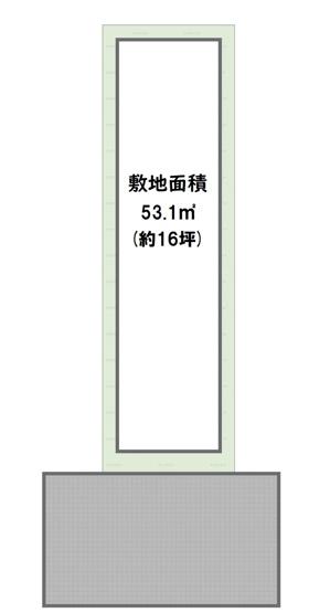 自由設計区画限定1区画♪【土地価格1180万円 土地面積50.80㎡】