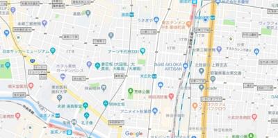 【地図】フェニックス本郷東大前(フェニックスホンゴウトウダイマエ)