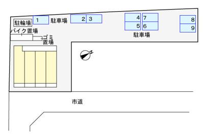 【区画図】フランガーデン