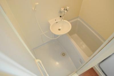 【浴室】レオパレスWILL南郡山
