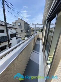 【バルコニー】平塚市河内第8 新築戸建 1号棟