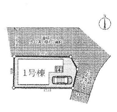 【区画図】クレイドルガーデン高槻市東五百住町第3