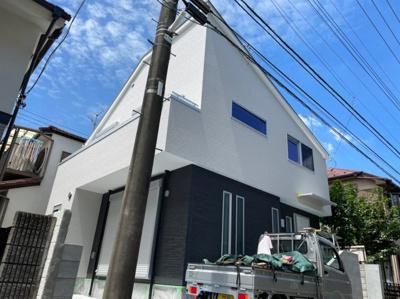 【外観】武蔵野市八幡町4丁目 新築一戸建て