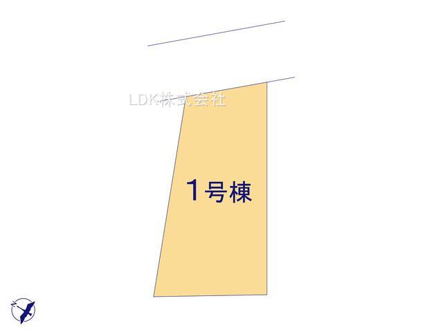 【区画図】新築戸建/ふじみ野市福岡武蔵野