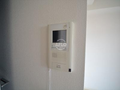 クリスタルブライト谷町 TVモニター付きインターホン