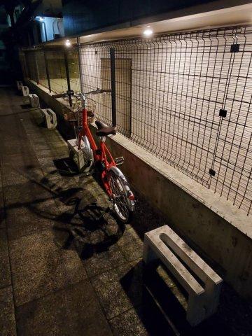 駐輪場は1台まで無料で使用可能です