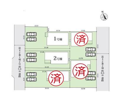 【区画図】GRAFARE 名古屋市東茶屋4期