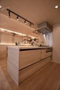 食器洗浄機付のシステムキッチンです!調理するのが便利になるだけでなく食器洗浄機があることで後片付けもサポートしてくれます♪♪