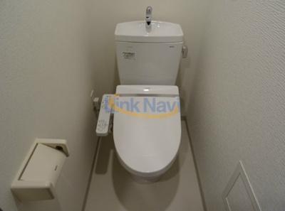 【トイレ】プレサンス谷町リーベ