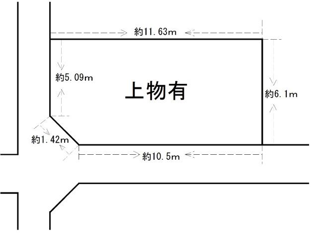 土地面積70.16㎡(21.22坪)になります。