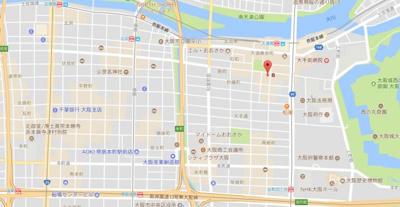 【地図】パークヒルズゼンボー大手前