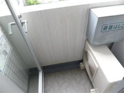 【バルコニー】スカイコート神楽坂参番館