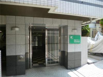 【エントランス】スカイコート神楽坂参番館