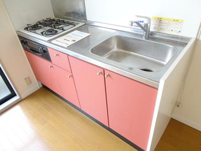 【キッチン】レオパレスSKYプラザ