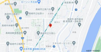 【地図】清水タウンハウスE棟