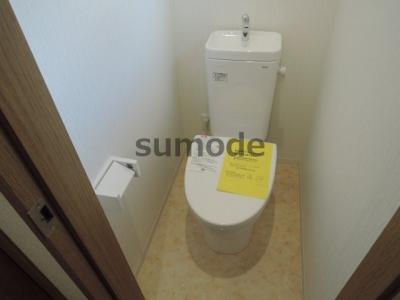 【トイレ】清水タウンハウスE棟