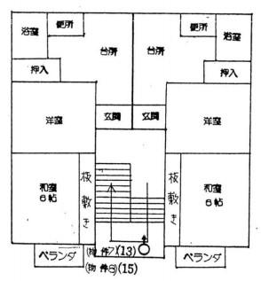 新潟県燕市五千石4棟一括売アパート