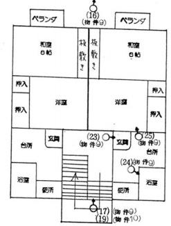 【間取り】新潟県燕市五千石4棟一括売アパート