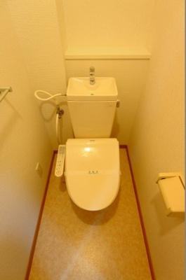 【トイレ】ベルデフラッツ谷町