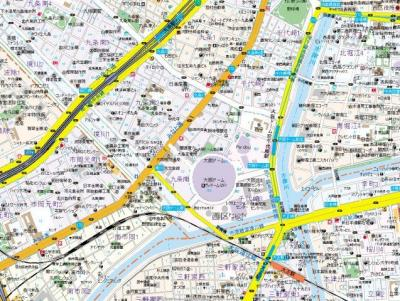 【地図】エステムコートディアシティWEST