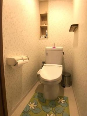 【トイレ】ファミール北加賀屋こもれびの街