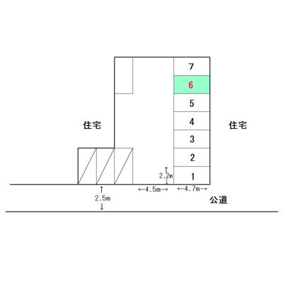 【区画図】岩井ガレージ3