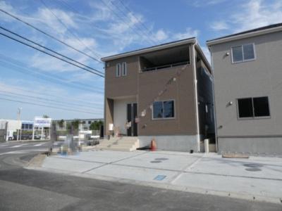 高浜市屋敷町第1新築分譲住宅1号棟写真です。2021年8月撮影