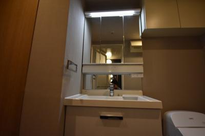 【独立洗面台】人気の西麻布 パークアクシス西麻布